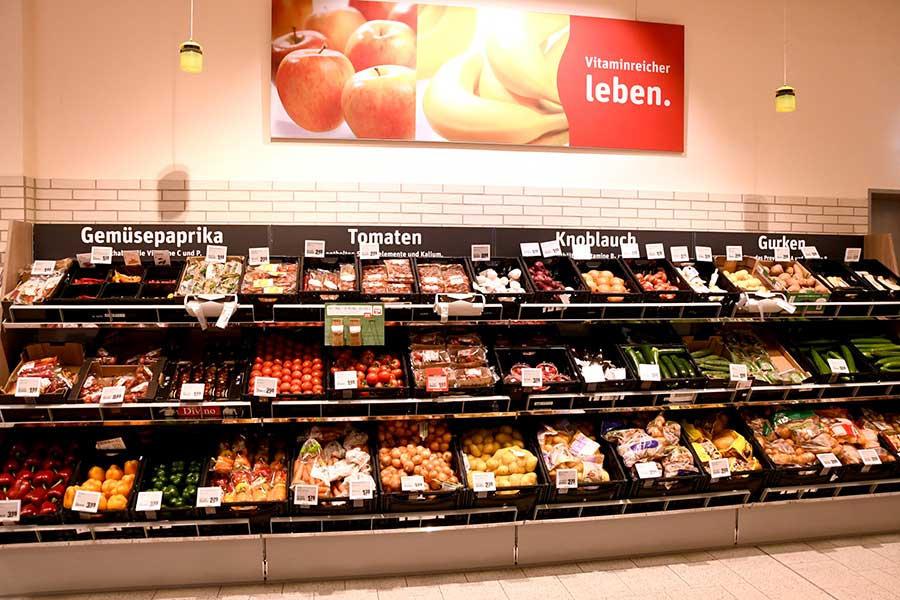 Obst und Gemüse bei REWE Geladaris