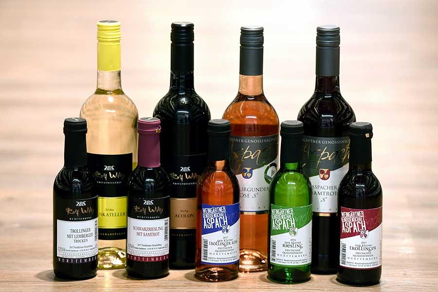 Regionale und internationale Weinsorten in Ihrem Supermarkt in Backnang