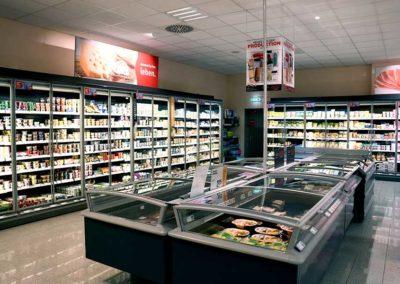 Molkereiprodukte im Supermarkt in Backnang